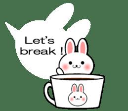Balloon Rabbit! [English] sticker #11130326