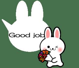 Balloon Rabbit! [English] sticker #11130327