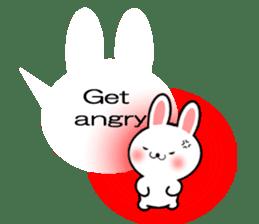 Balloon Rabbit! [English] sticker #11130331
