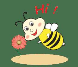 An Little Bee sticker #11130416