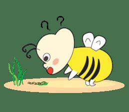 An Little Bee sticker #11130417