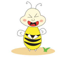 An Little Bee sticker #11130421