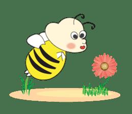 An Little Bee sticker #11130424