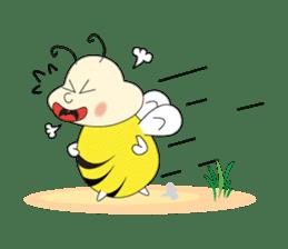 An Little Bee sticker #11130425