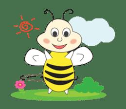 An Little Bee sticker #11130428