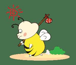 An Little Bee sticker #11130429