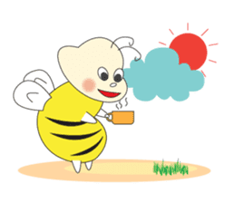 An Little Bee sticker #11130431