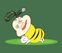 An Little Bee sticker #11130438
