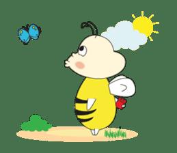 An Little Bee sticker #11130442