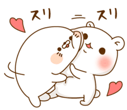 Vulgar bear VS Stinging tongue seal3.4 sticker #11132130