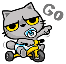 Meow Zhua Zhua - No.9 - sticker #11137192