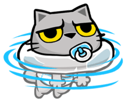 Meow Zhua Zhua - No.9 - sticker #11137217