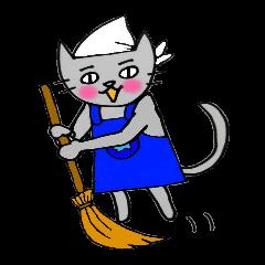 Nekokun househusband a day-to-day