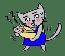 Nekokun househusband a day-to-day sticker #11138027
