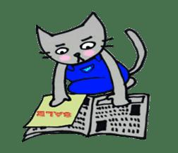 Nekokun househusband a day-to-day sticker #11138028