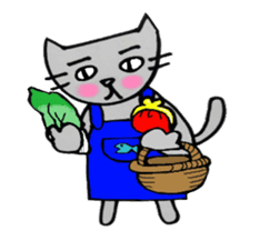 Nekokun househusband a day-to-day sticker #11138029