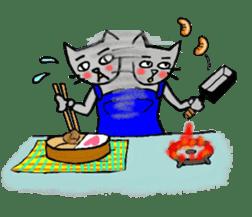 Nekokun househusband a day-to-day sticker #11138032