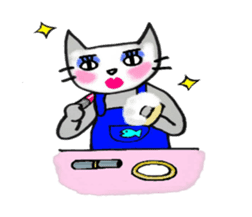 Nekokun househusband a day-to-day sticker #11138034