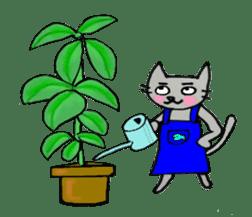 Nekokun househusband a day-to-day sticker #11138036