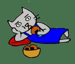 Nekokun househusband a day-to-day sticker #11138037