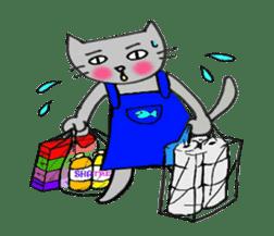 Nekokun househusband a day-to-day sticker #11138043