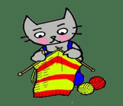 Nekokun househusband a day-to-day sticker #11138044
