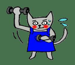 Nekokun househusband a day-to-day sticker #11138046