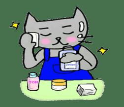 Nekokun househusband a day-to-day sticker #11138048