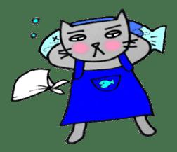 Nekokun househusband a day-to-day sticker #11138051