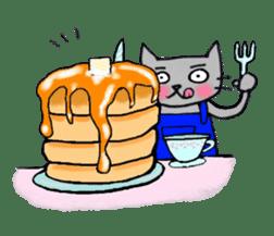 Nekokun househusband a day-to-day sticker #11138053