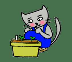 Nekokun househusband a day-to-day sticker #11138054