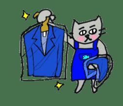 Nekokun househusband a day-to-day sticker #11138056