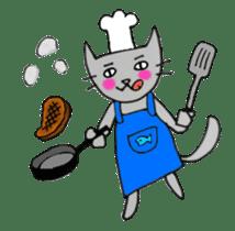 Nekokun househusband a day-to-day sticker #11138060