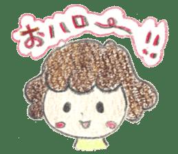 Aki Toyosaki's Sticker sticker #11142304