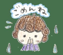 Aki Toyosaki's Sticker sticker #11142310