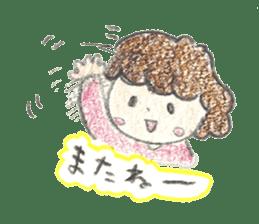 Aki Toyosaki's Sticker sticker #11142311