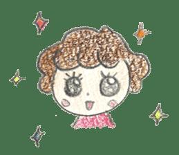 Aki Toyosaki's Sticker sticker #11142314