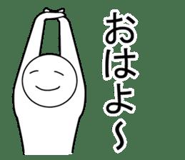 Yoga pose  Communication sticker #11145232
