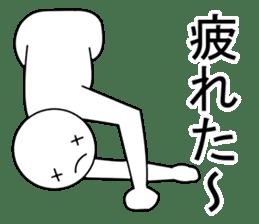 Yoga pose  Communication sticker #11145252