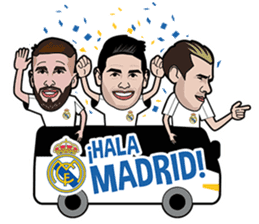 Official Real Madrid Sticker Pack sticker #11146882