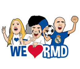 Official Real Madrid Sticker Pack sticker #11146883