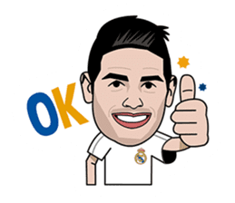 Official Real Madrid Sticker Pack sticker #11146891