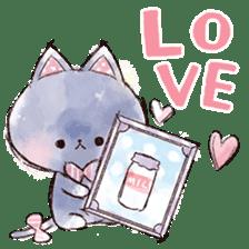 melty cat sticker #11164528