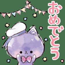 melty cat sticker #11164530