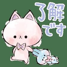melty cat sticker #11164531