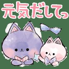 melty cat sticker #11164534