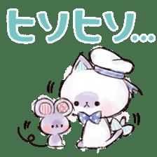 melty cat sticker #11164541