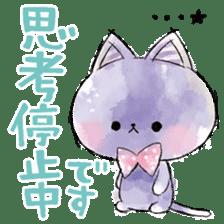 melty cat sticker #11164544