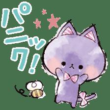 melty cat sticker #11164546