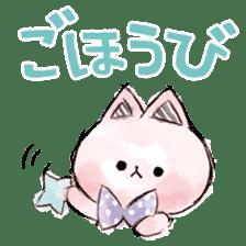 melty cat sticker #11164549